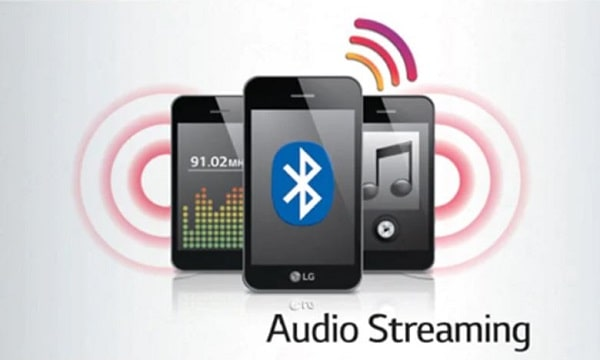 Wireless Blutooth Audio Streaming