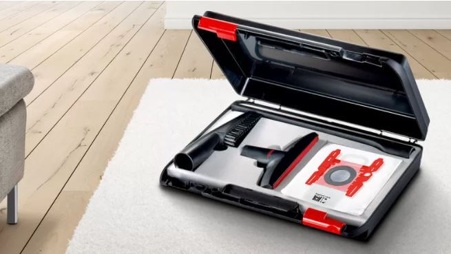 Professional accessories for more efficient cleaning