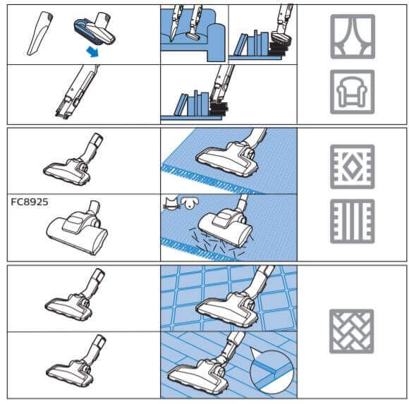 Accessories For Thorough Cleaning
