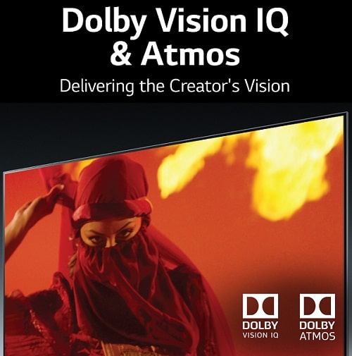 Dolby Vision IQ and Dolby Atmos